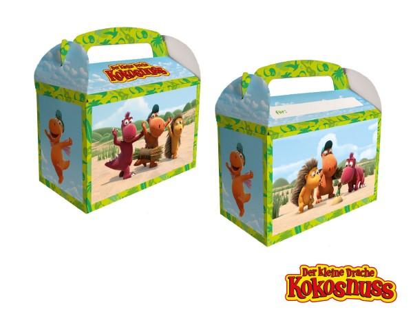 8 Kleiner Drache Kokosnuss Geschenkboxen