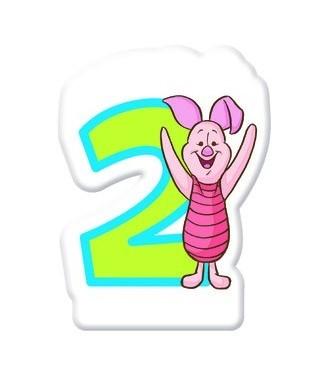 Winnie Puuh Geburtstagsparty Nummer 2 Tortenkerze 5cm