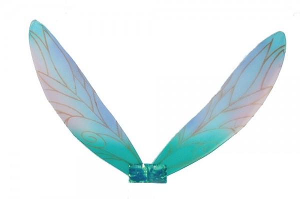 Niños elfos alas de cuento de hadas