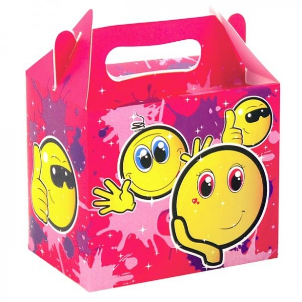 Scatola regalo per smiley 14 cm