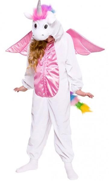 Beflügeltes Einhorn Kostüm für Kinder