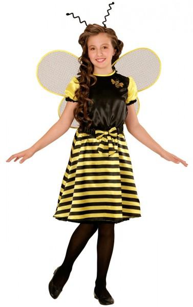 Fröhliche Bienenkönigin Kinderkostüm