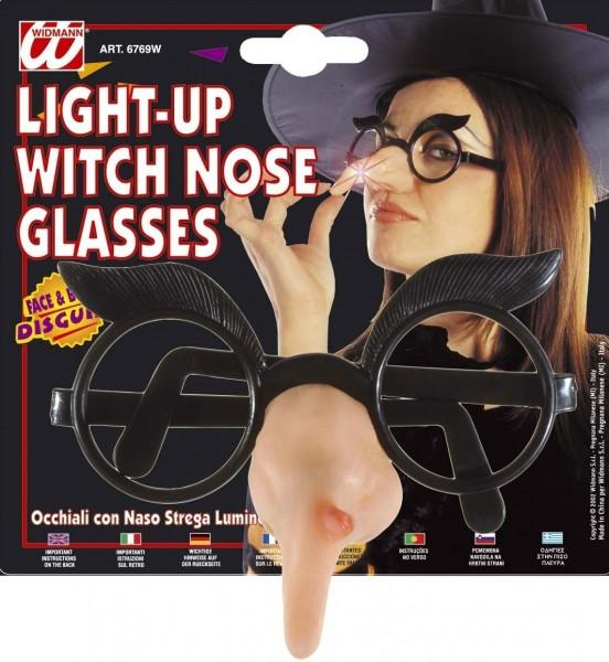 Nerdbrille mit Hexennase