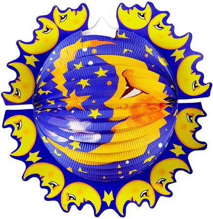 Mond Laterne Luna 33cm