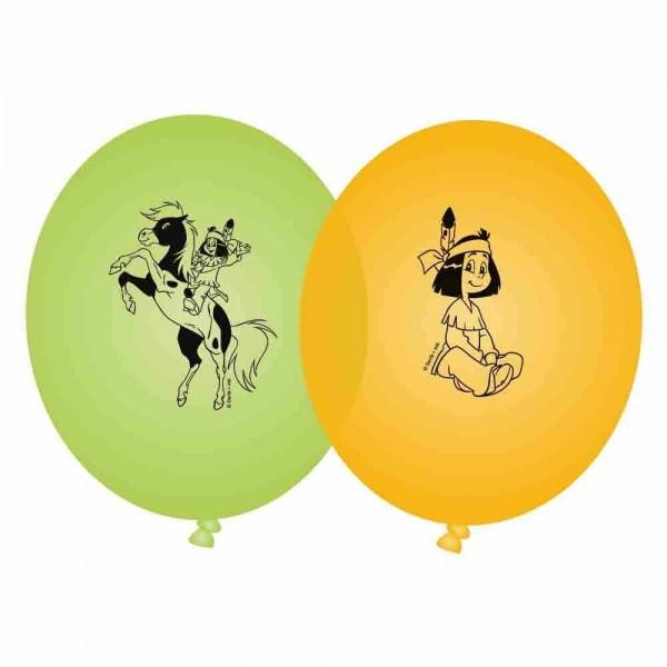 8 Yakari Party Latexballons