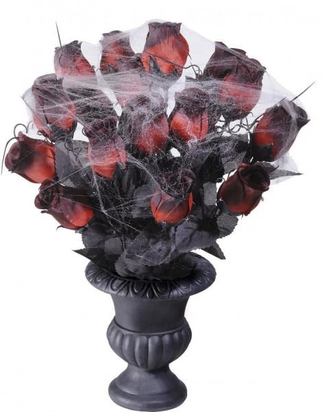 Verblichene Rosen Liebeserklärung Inklusive Vase 30cm