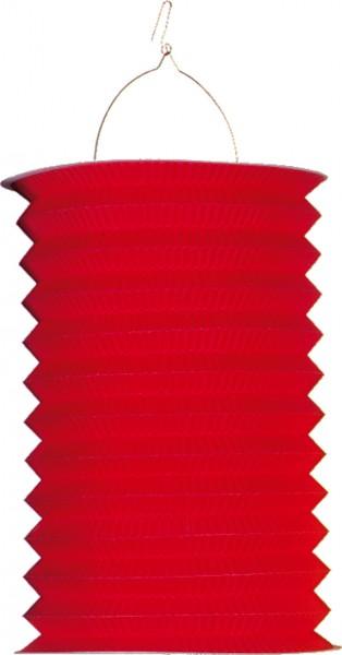Farolillo De Papel De Color Sólido Otoño Flor Rojo 28cm