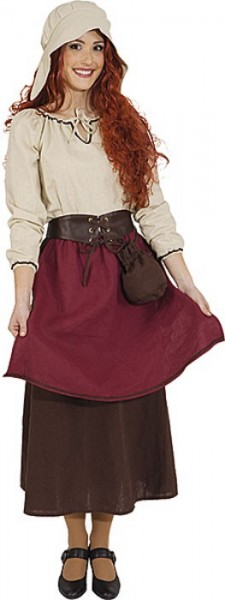 Mittelalter Bauernmagd Ricarda Kostüm
