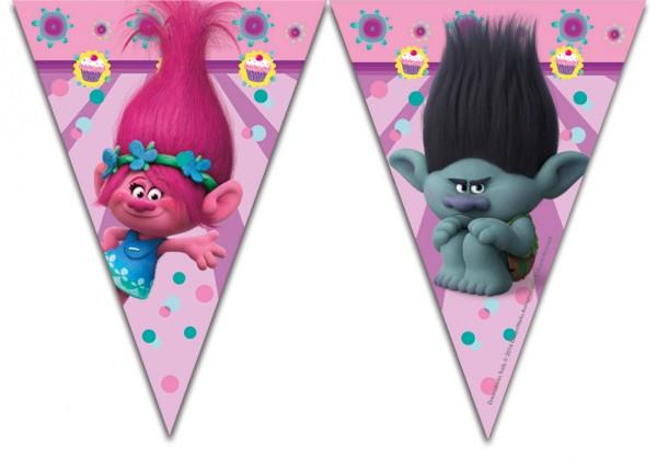 Trolls Party Wimpelkette