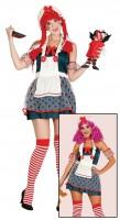 Freaky Horror Puppe Damenkostüm