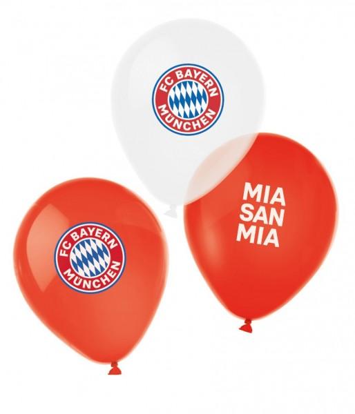 6 FC Bayern München Latexballons 27cm