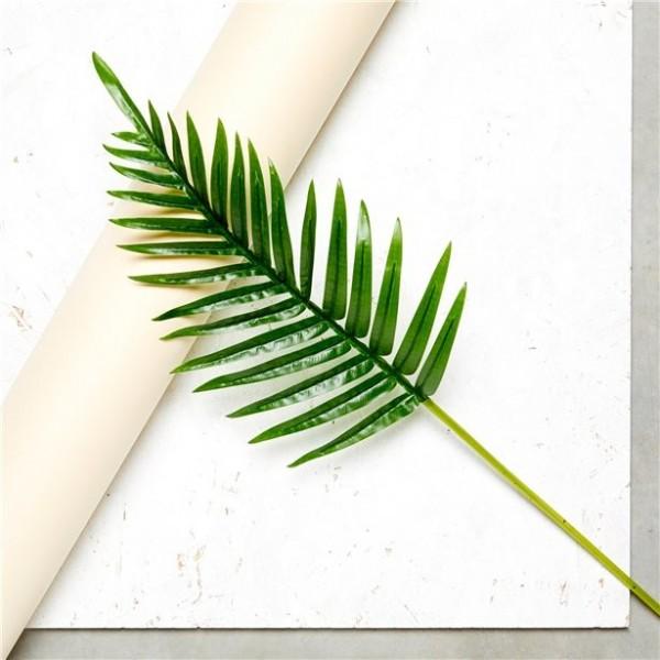 Kunststoff Deko Palmblatt 65cm