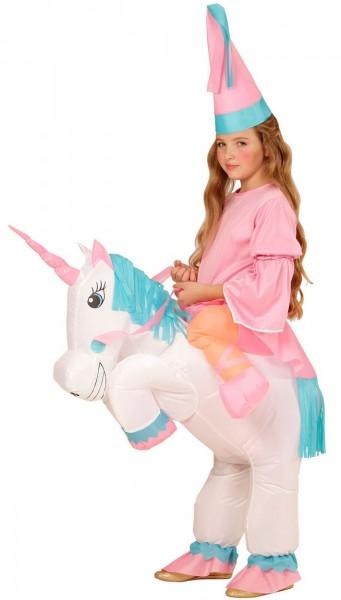 Cooles Einhorn Kostüm Aufblasbar Für Kinder
