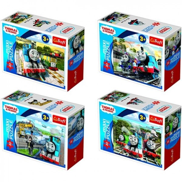 Mini Puzzle Thomas die Lokomotive