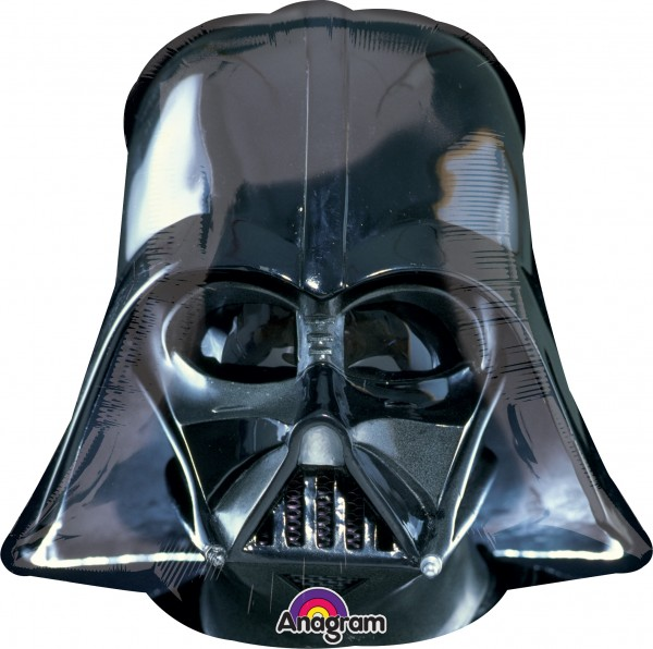 Folienballon Darth Vader Maske