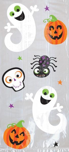 20 Halloweentüten funny ghosts