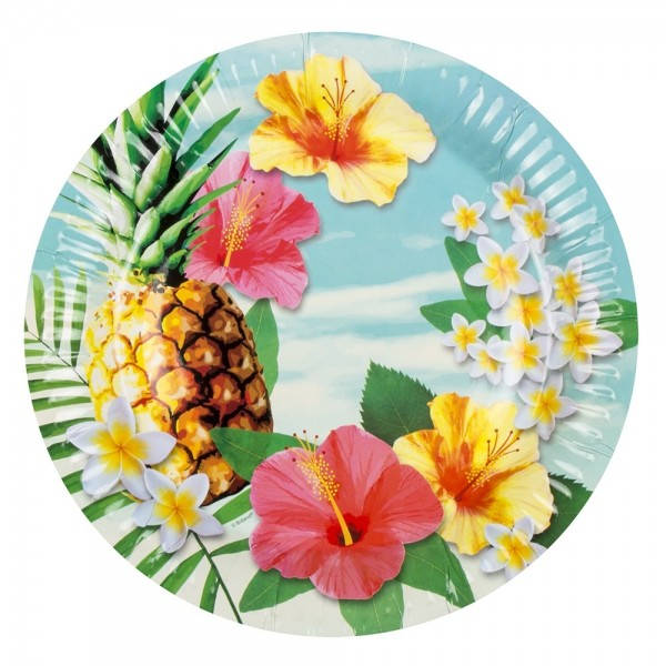 Hawaii Beach Party Set 24-teilig