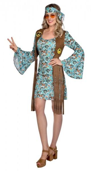 Hippie Girl Damenkostüm Stella