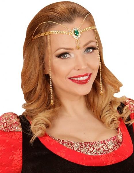 Encantadora tiara elfa de fantasía