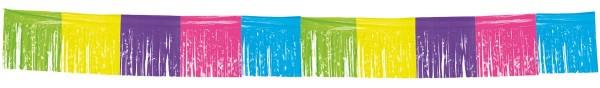 Kolorowy baner z frędzlami 10m