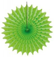 Fächer Honigwaben apfelgrün 45cm