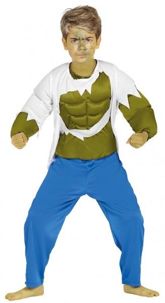 Muskulöses Monster Kinderkostüm