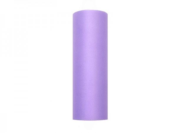 Tüll Stoff Luna violett 9m x 15cm