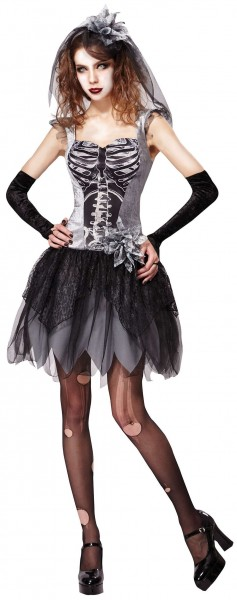 Saskia skeleton bridal costume for women