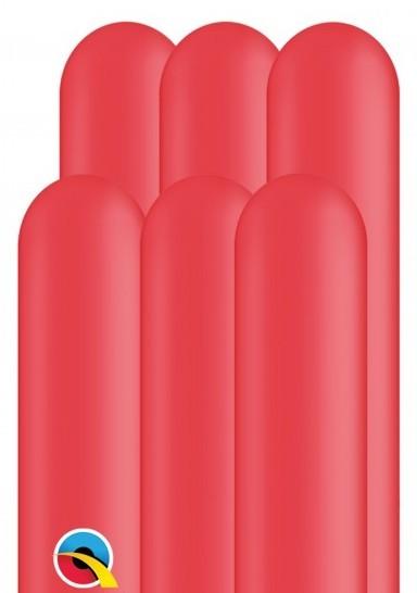 100 ballons à modeler 260Q rouge 1.5m
