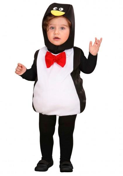 Flauschiges Pinguin Kinderkostüm