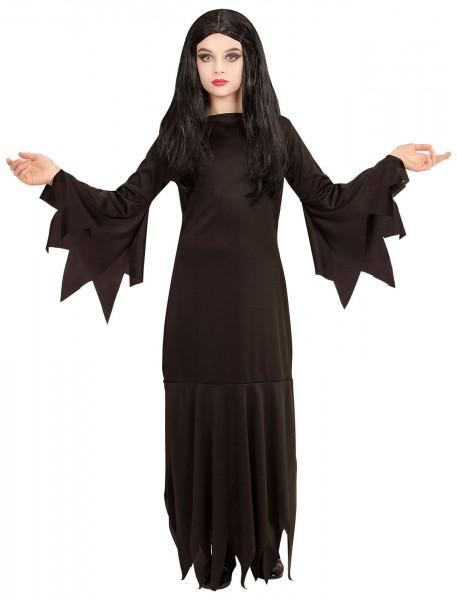 Schlichtes Gothic Lady Kinderkostüm