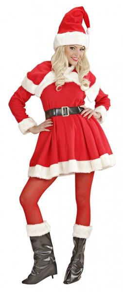 Costume de Noël en peluche Santa Claudia