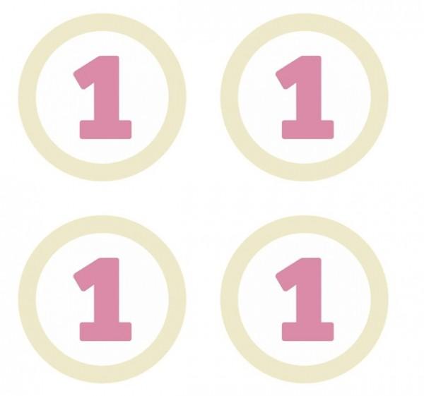 4 Finalmente una tavola decorata di rosa