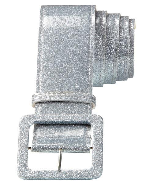 Silberner Glitzergürtel 1,2m