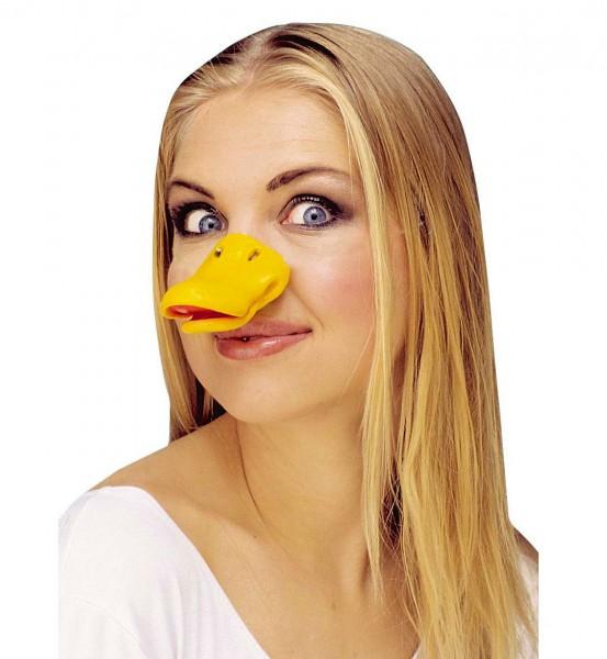 Gelbe Schnatterenten Maske
