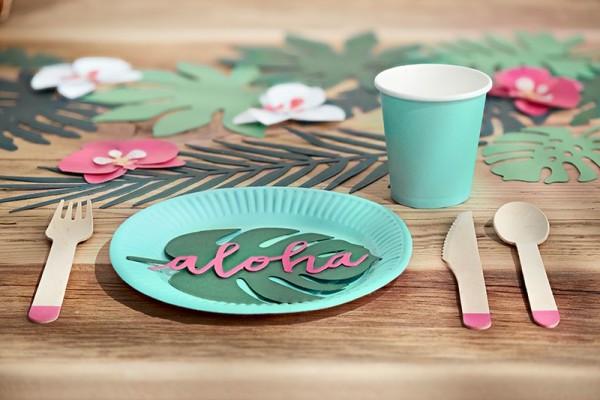 Bicchiere di carta Aloha 6 pz.