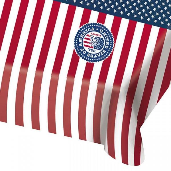 Tischdecke USA Party 130cm x 180cm