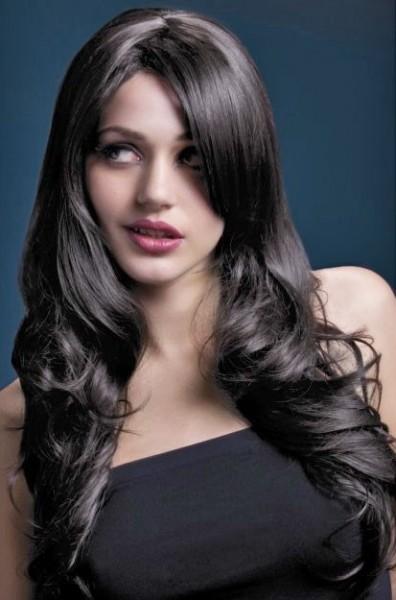 Magnifique perruque femme cheveux bruns