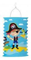 Kleiner Pirat Tommy Laterne 28cm