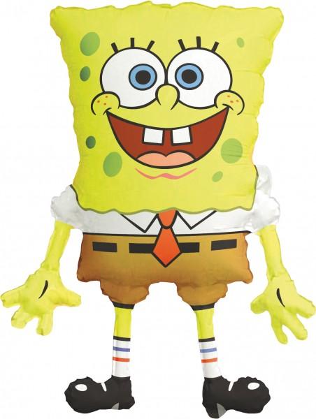 Folienballon Fröhlicher SpongeBob XL