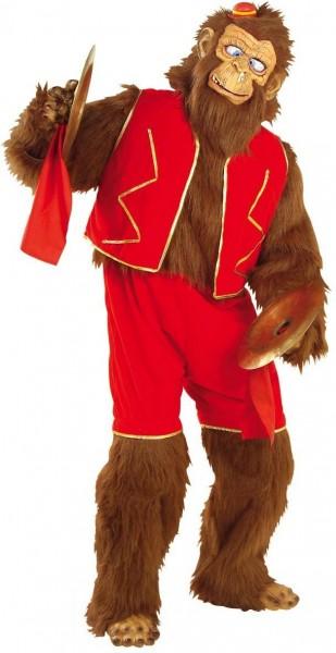 Pluche circus aap kostuum Deluxe