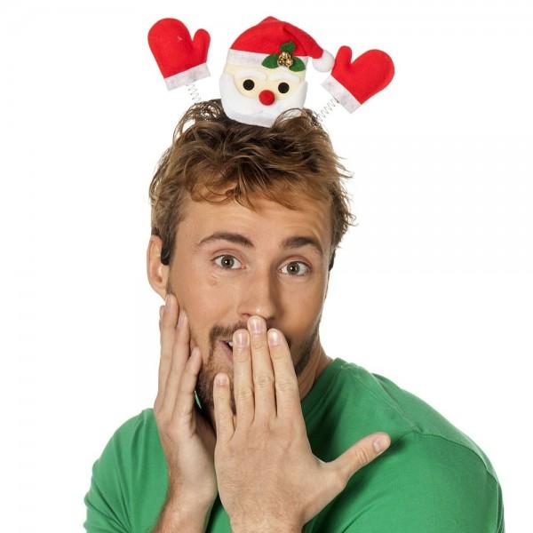Santa Claus waving headband