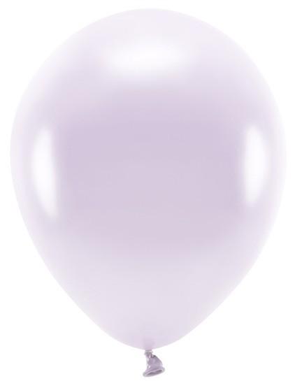 100 Eco metallic Ballons lavendel 30cm