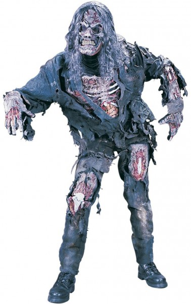 Gescheurde zombie monster kostuum