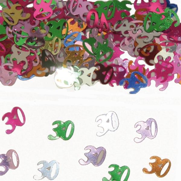 15g espolvorear decoración número 30 de colores