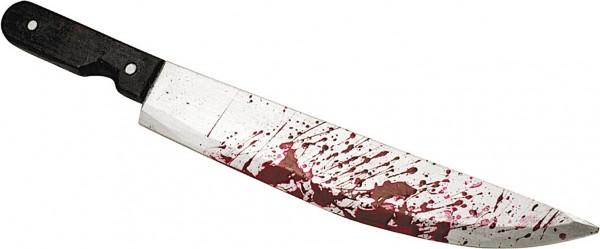 Horror Messer 51cm Blutig