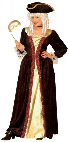 Feine Venezianische Lady Damenkostüm