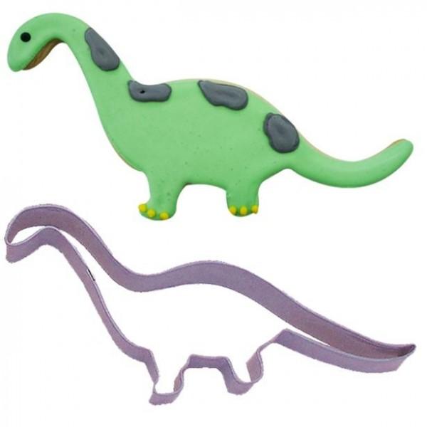 Emporte-pièce Brontosaure Dino 15 x 5 cm