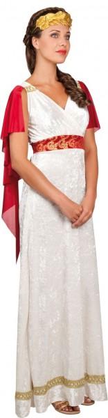 Sukienka rzymskiej cesarzowej Heleny z pierścieniem do włosów