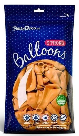 10 balonów Partystar pomarańczowy 30 cm